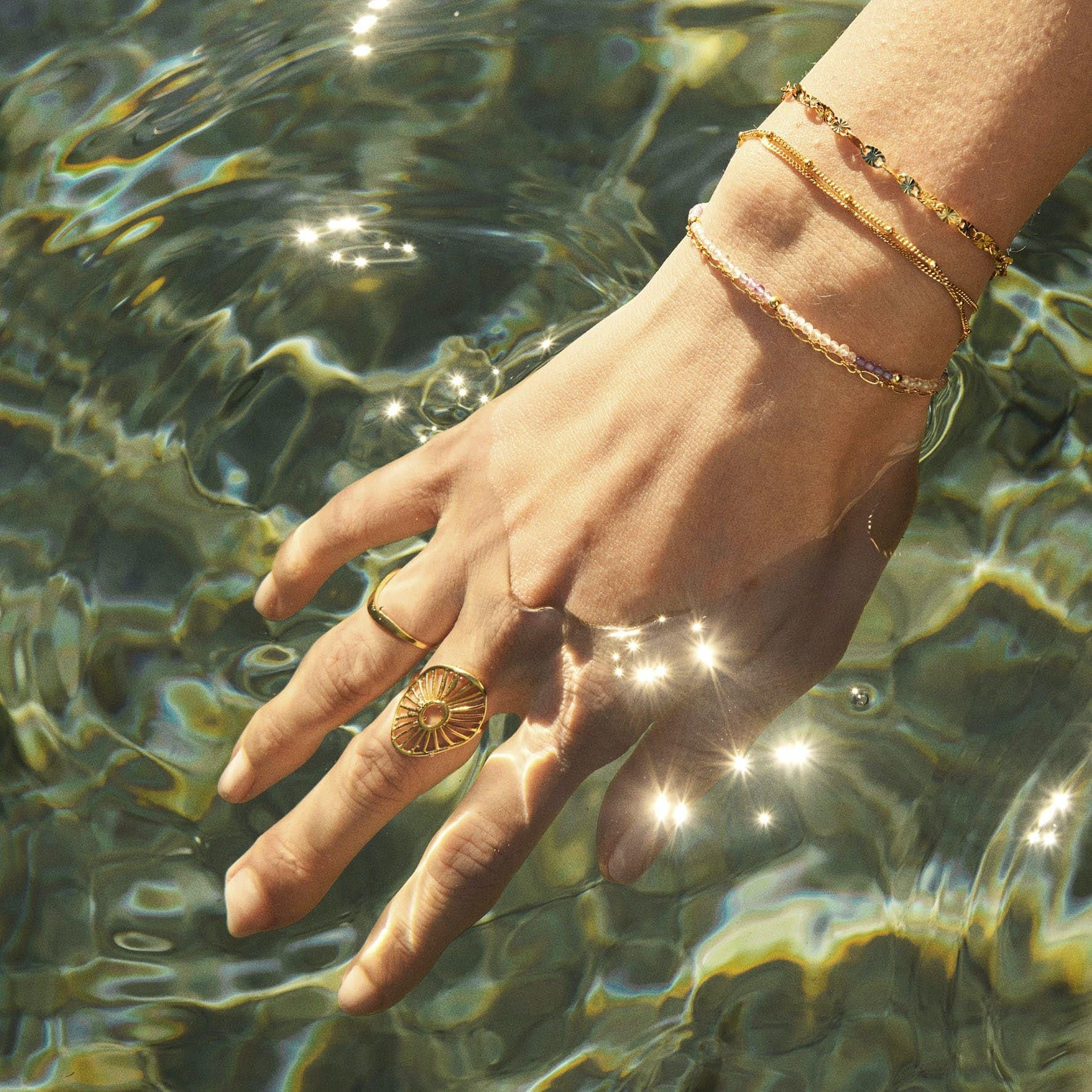 Ocean Stars Bracelet fra Pernille Corydon i Sølv Sterling 925