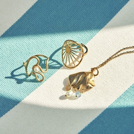 Sea Treasure Necklace aus Pernille Corydon