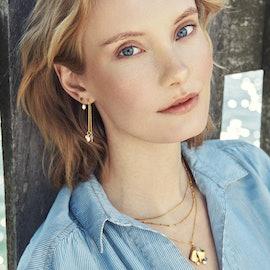 Galaxy Necklace från Pernille Corydon i Förgyllt-Silver Sterling 925