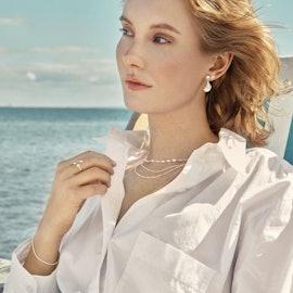 Seashell Earrings fra Pernille Corydon i Sølv Sterling 925