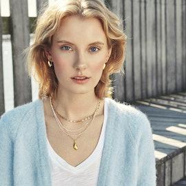 Seashell Necklace fra Pernille Corydon i Forgylt-Sølv Sterling 925