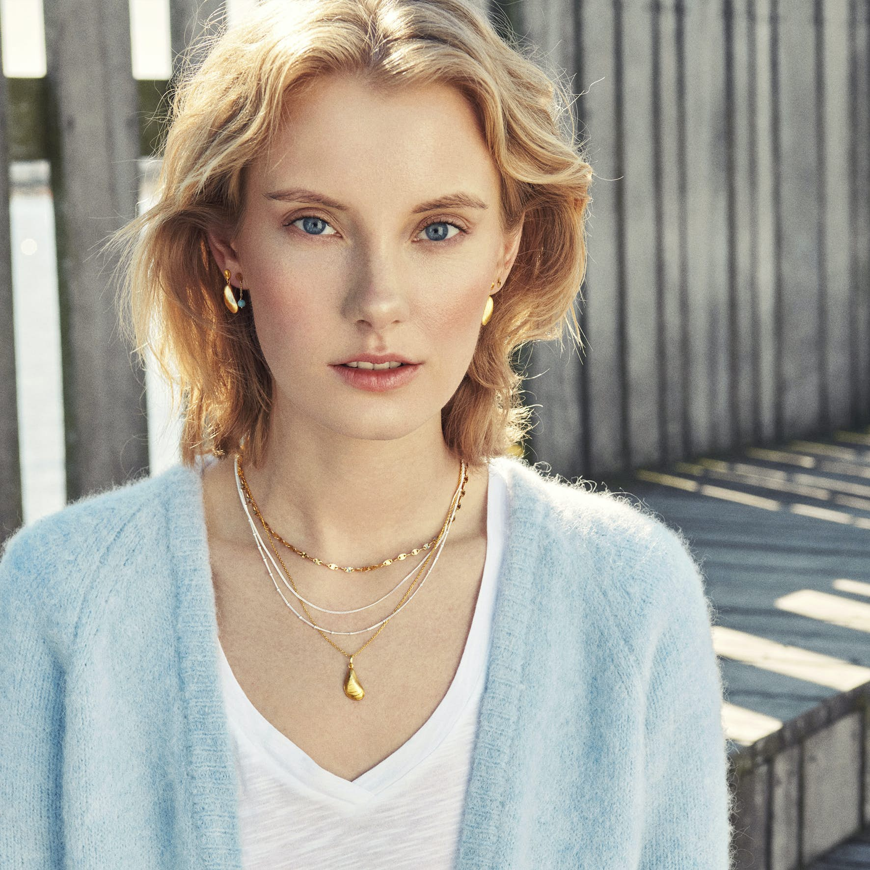 Galaxy Necklace from Pernille Corydon in Silver Sterling 925