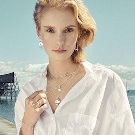 Sea Treasure Necklace fra Pernille Corydon i Sølv Sterling 925