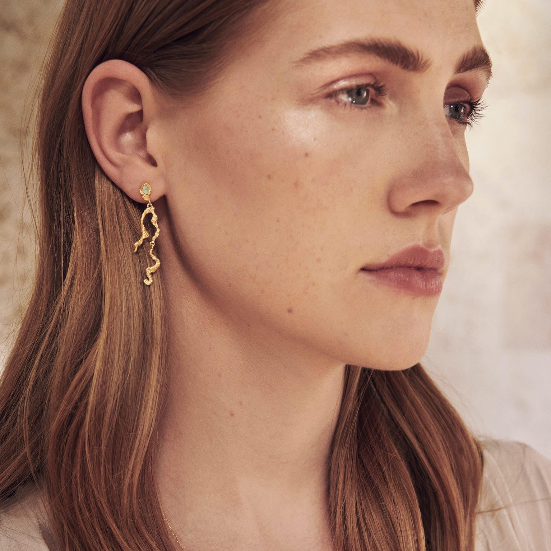 Idun Earrings från Maanesten i Silver Sterling 925|