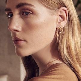 Lida Earrings from Maanesten in Goldplated-Silver Sterling 925