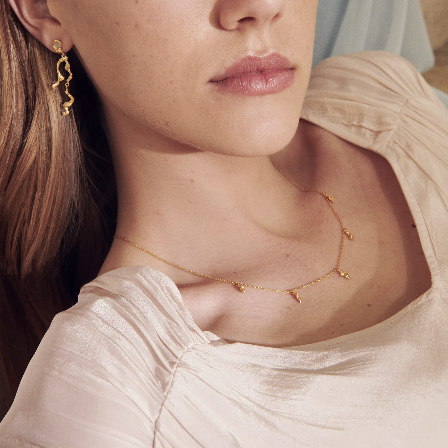 Marylou Necklace from Maanesten in Goldplated-Silver Sterling 925