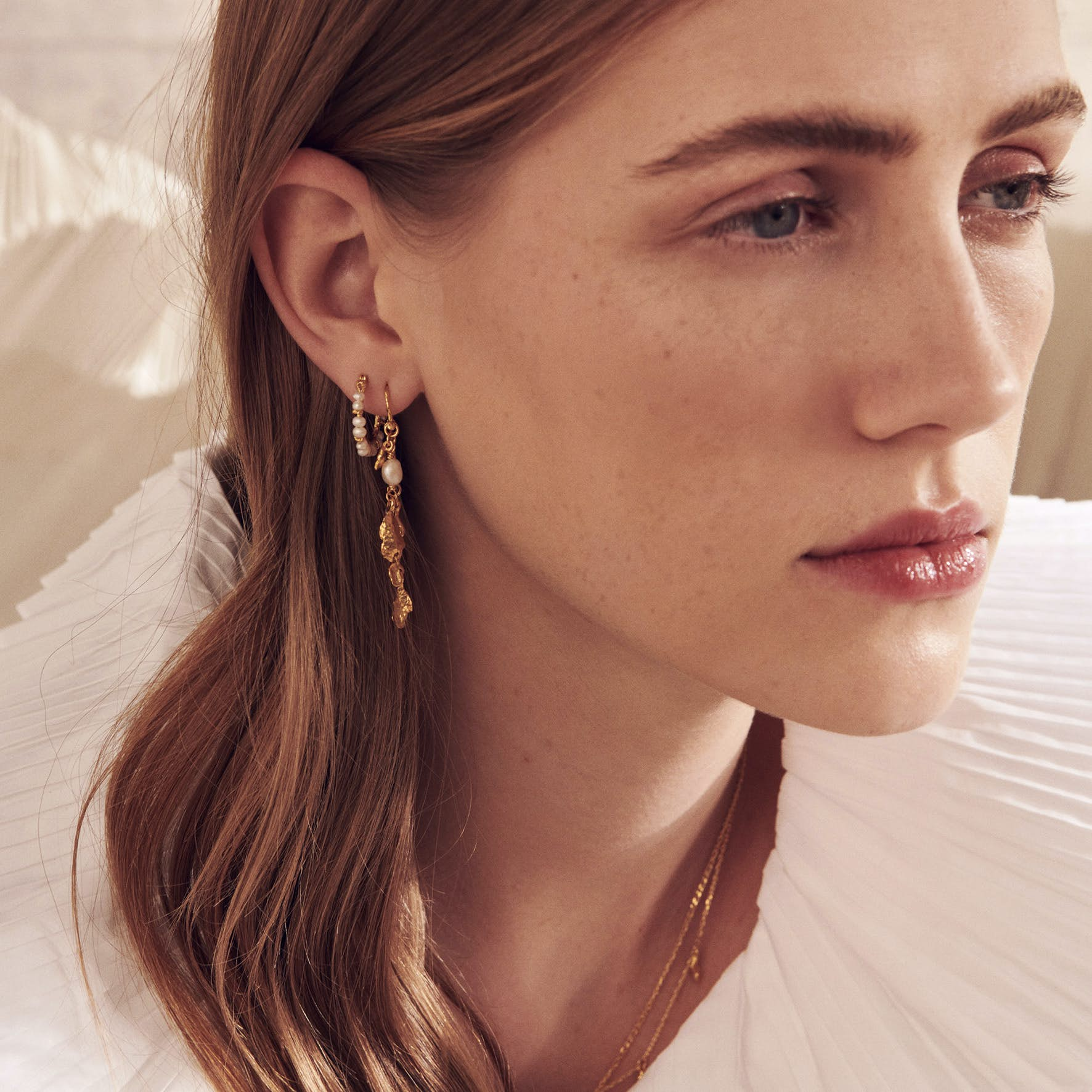 Thalia Earrings von Maanesten in Silber Sterling 925
