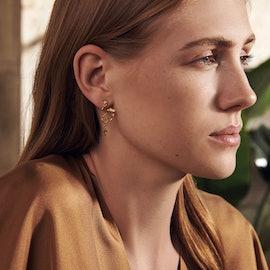 Magnoli Earrings von Maanesten in Vergoldet-Silber Sterling 925