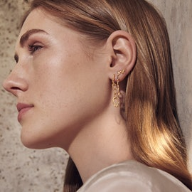 Fahima Earrings von Maanesten in Vergoldet-Silber Sterling 925