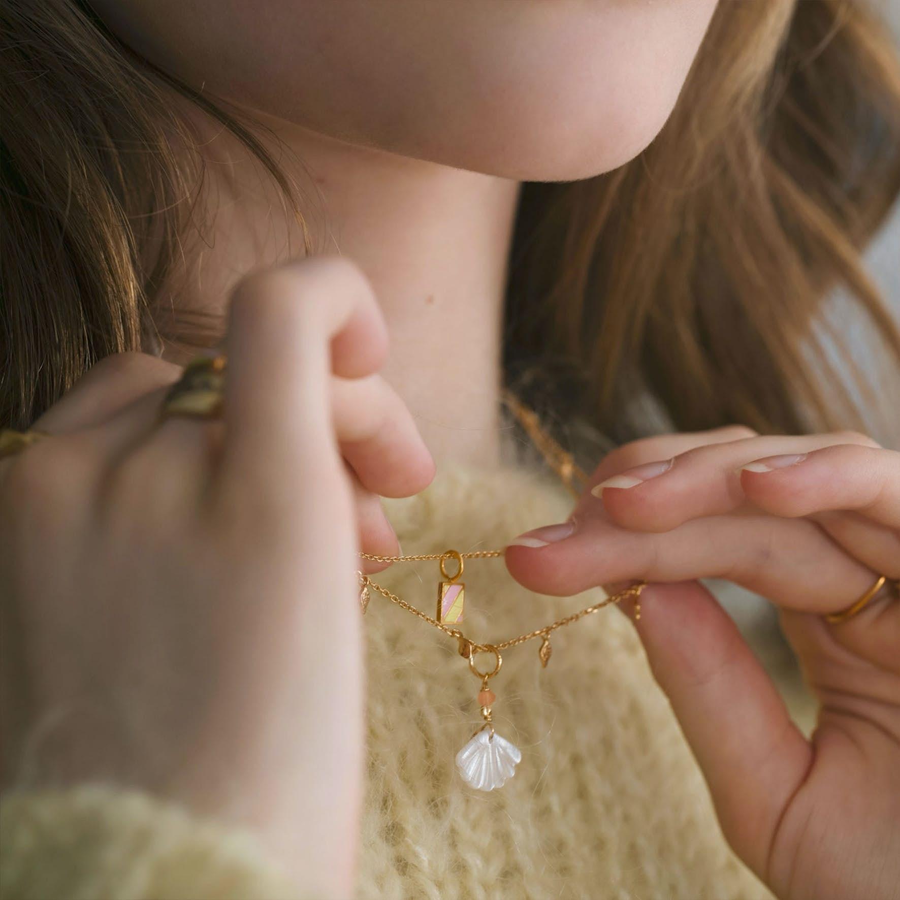 Petit Circus Pendant von STINE A Jewelry in Vergoldet-Silber Sterling 925