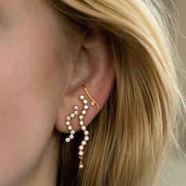 Midnight Sparkle Earring - Left