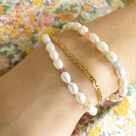 Petit Link Bracelet from STINE A Jewelry in Goldplated-Silver Sterling 925
