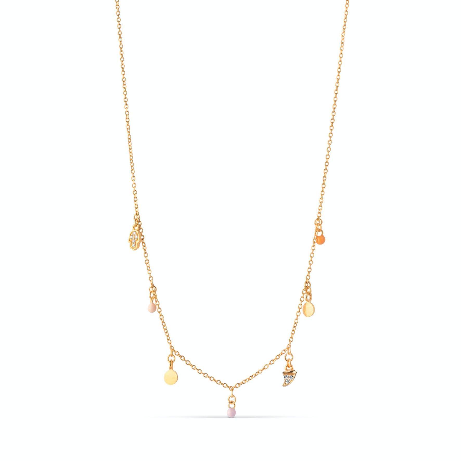 Lucky Charms Necklace from Enamel Copenhagen in Goldplated-Silver Sterling 925