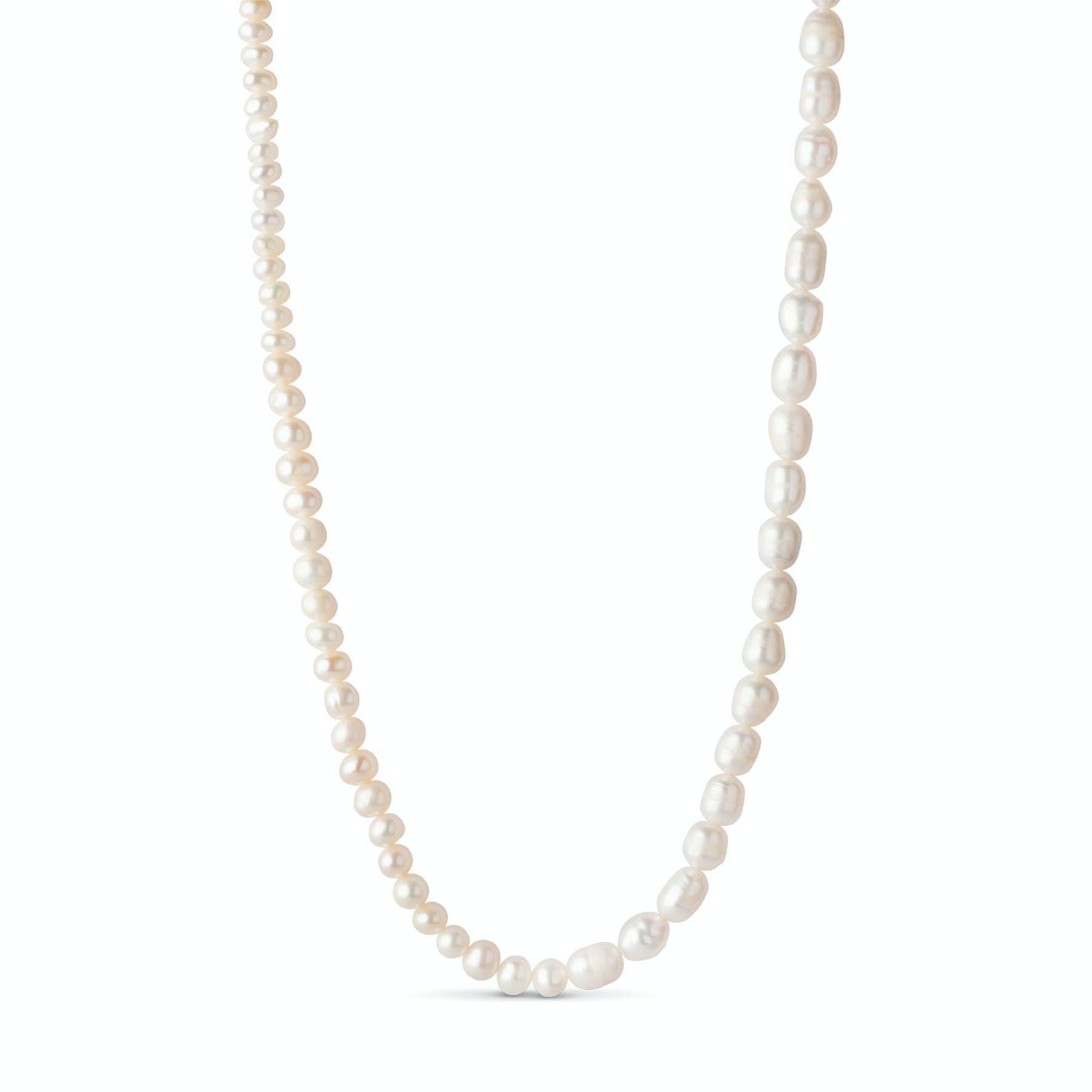 Pearlie Necklace von Enamel Copenhagen in Vergoldet-Silber Sterling 925