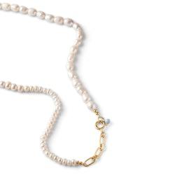Pearlie Necklace fra Enamel Copenhagen i Forgylt-Sølv Sterling 925