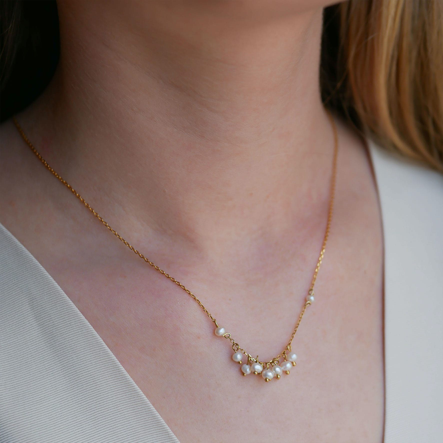 Ophelia Necklace from Enamel Copenhagen in Goldplated-Silver Sterling 925