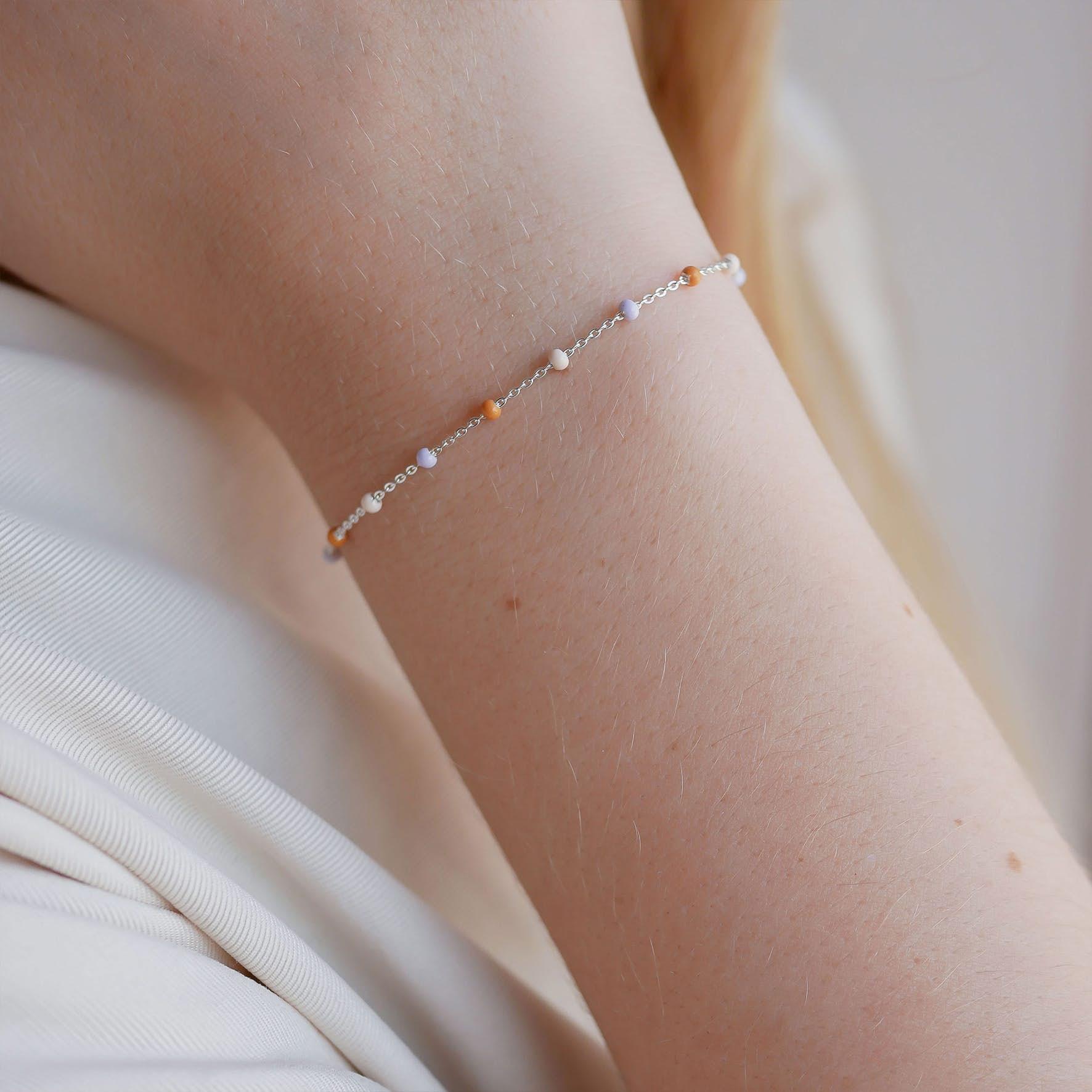 Lola Bracelet Heavenly von Enamel Copenhagen in Silber Sterling 925