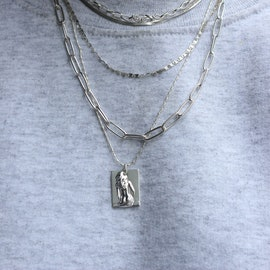 Lady Necklace von Pico in Vergoldet-Silber Sterling 925