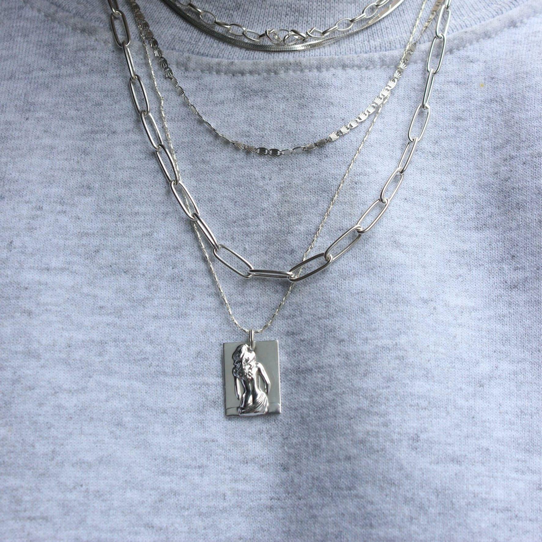 Lady Necklace fra Pico i Forgylt-Sølv Sterling 925