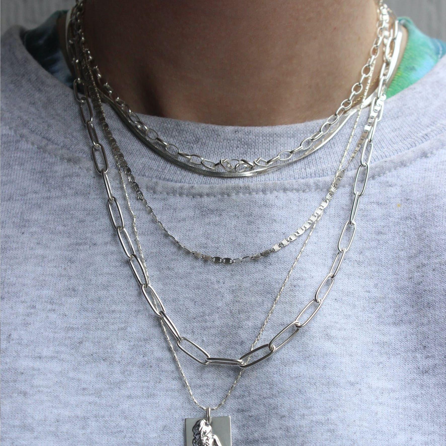 Gilly Necklace fra Pico i Sølv Sterling 925