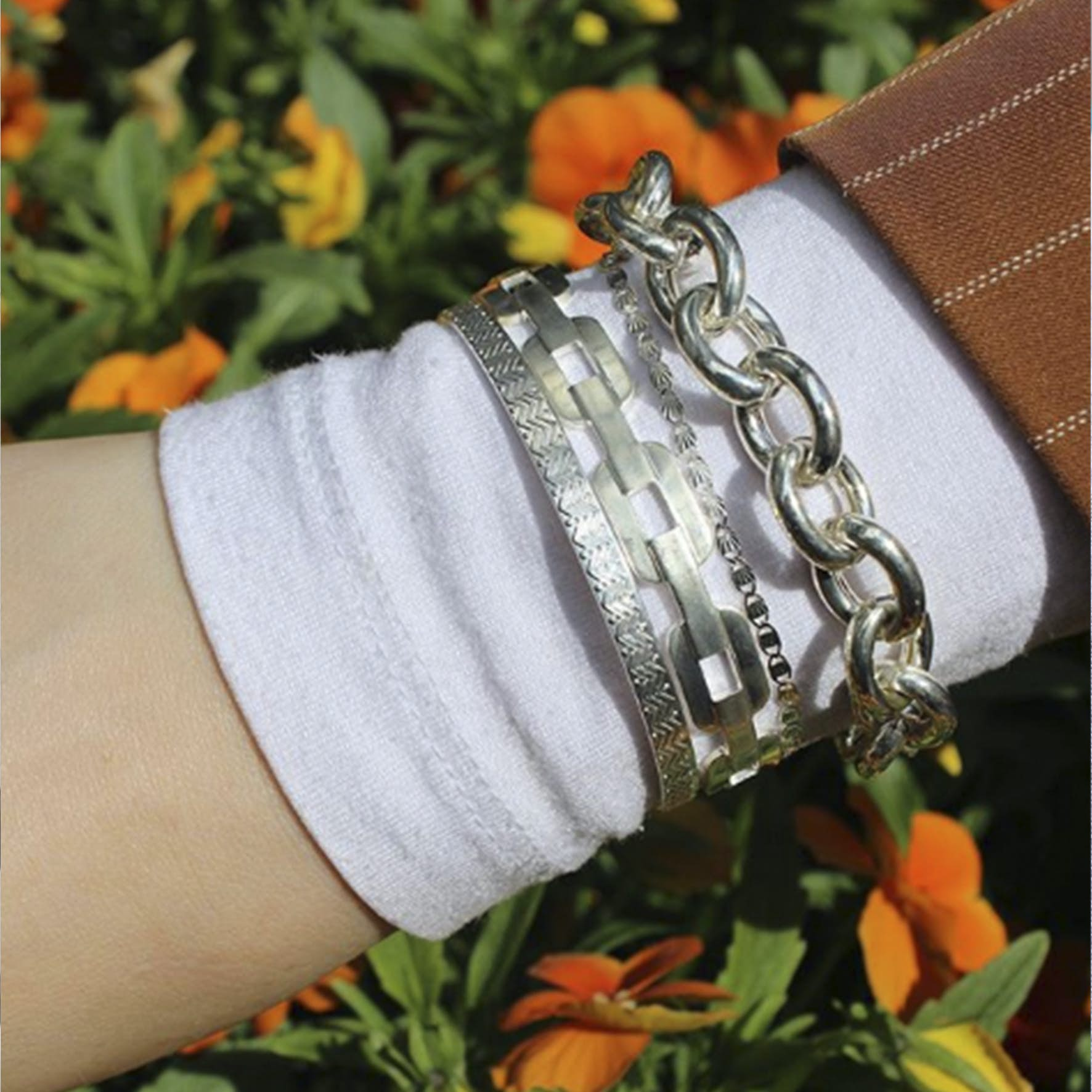 Gilly Bracelet from Pico in Goldplated-Silver Sterling 925