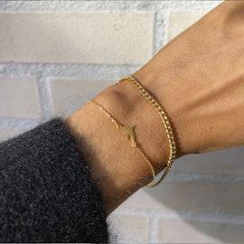Molly bracelet från Sistie i Förgyllt-Silver Sterling 925|Blank