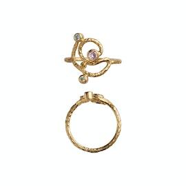 Twirly Candy Dots Ring aus STINE A Jewelry