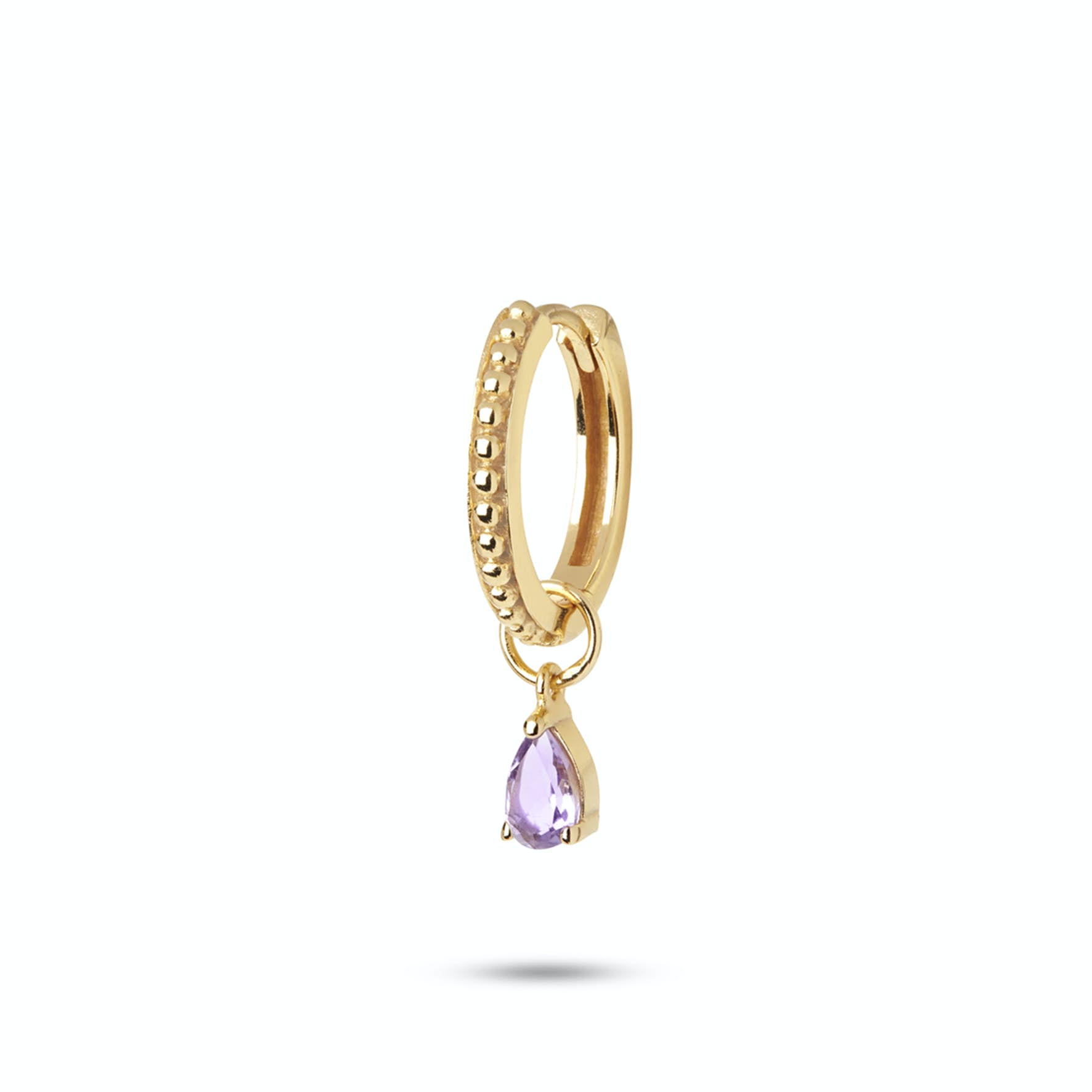 Gem Candy Earring Valentine von Carré in Vergoldet-Silber Sterling 925