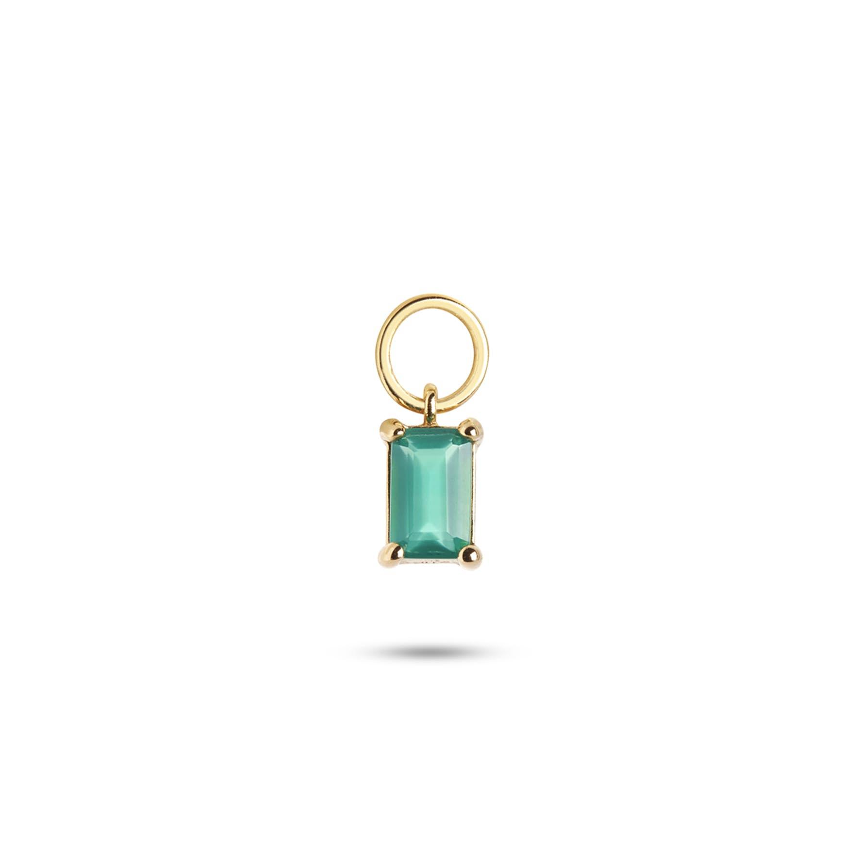 Gem Candy Pendant Confidence von Carré in Vergoldet-Silber Sterling 925