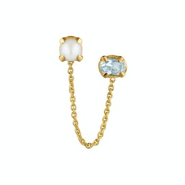 Gem Candy Earchain Pearl Jam