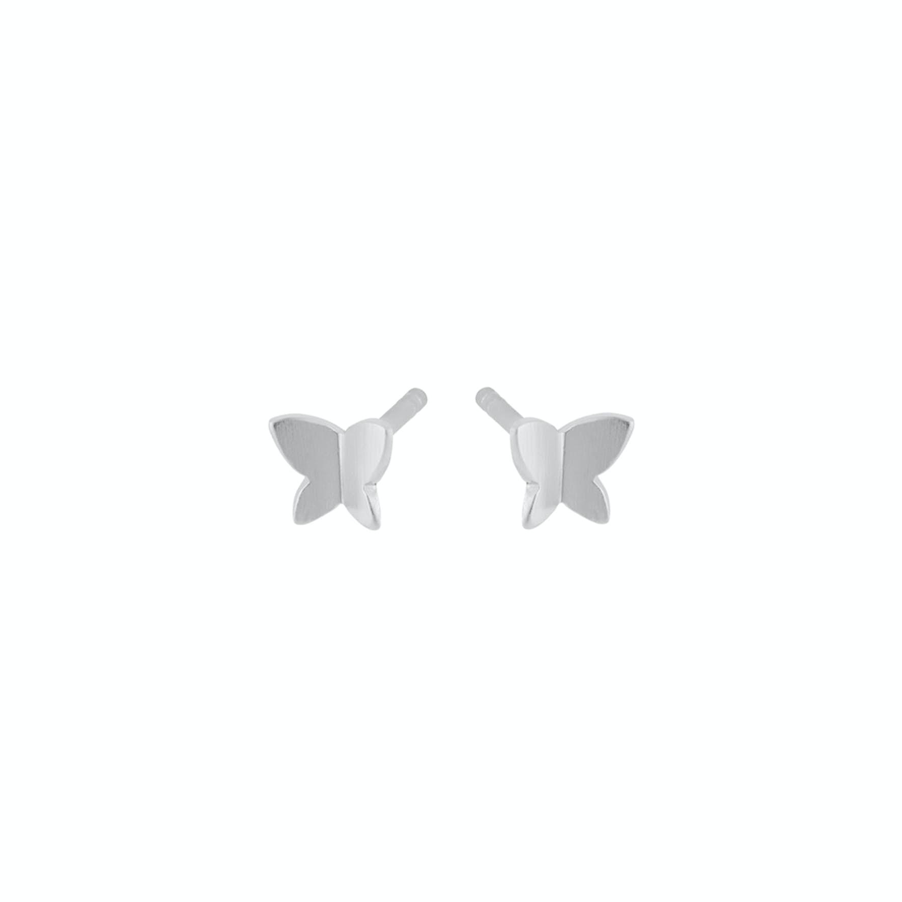 Butterfly Earsticks från Pernille Corydon i Silver Sterling 925