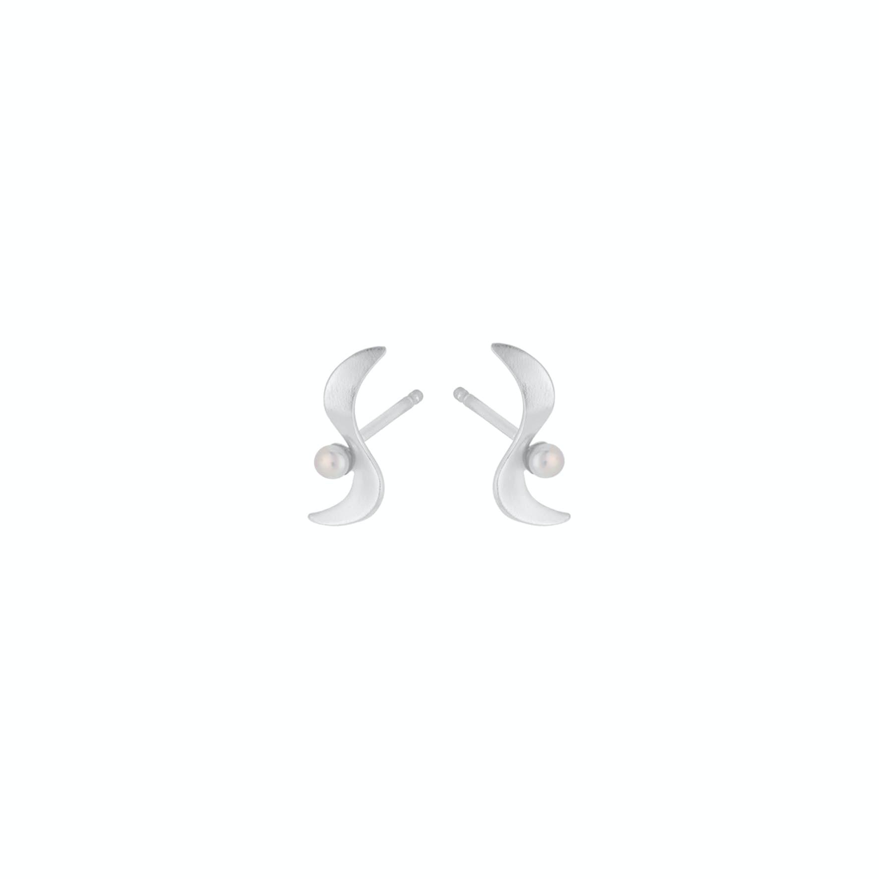 Ocean Wave Earsticks fra Pernille Corydon i Sølv Sterling 925