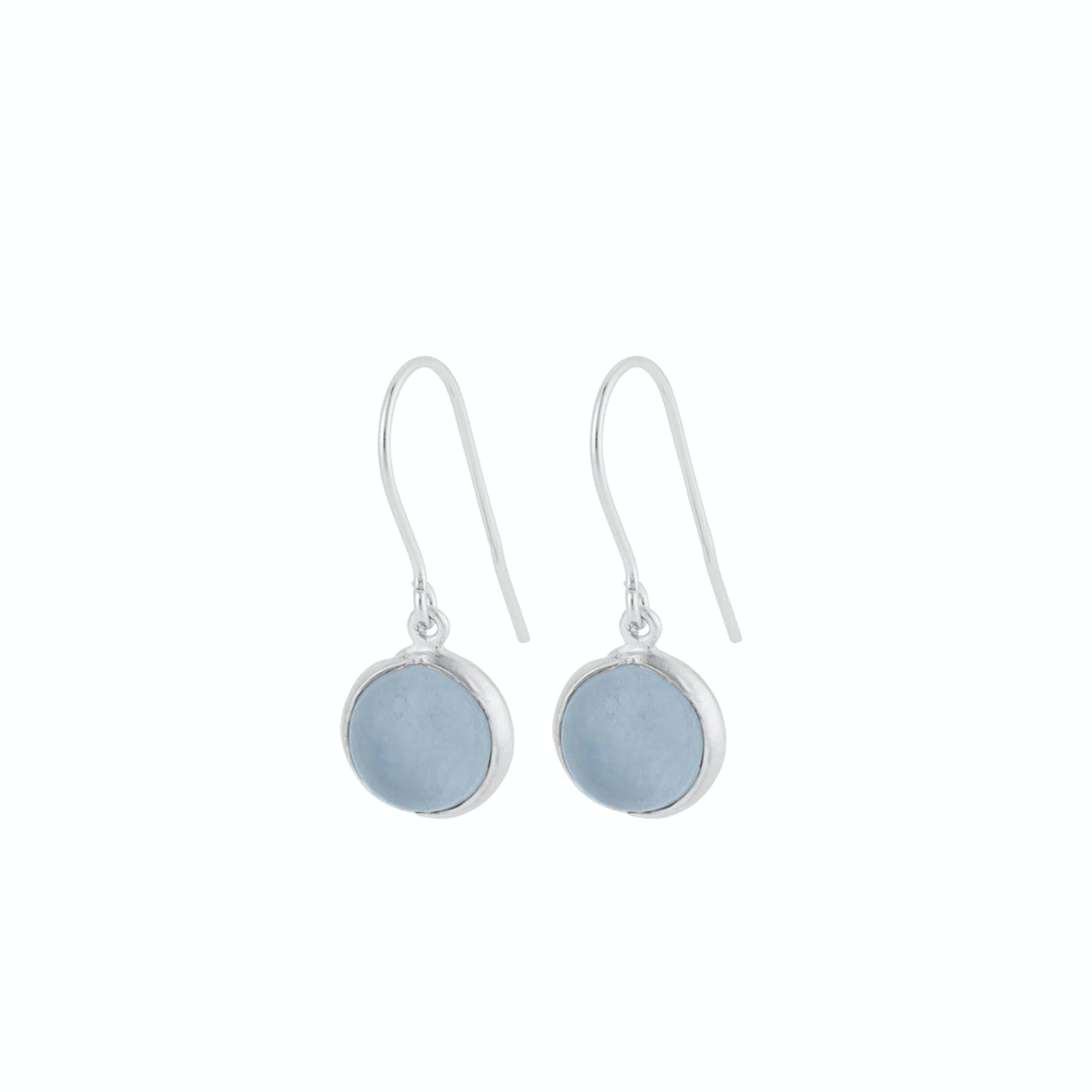 Aura Blue Earhooks fra Pernille Corydon i Sølv Sterling 925