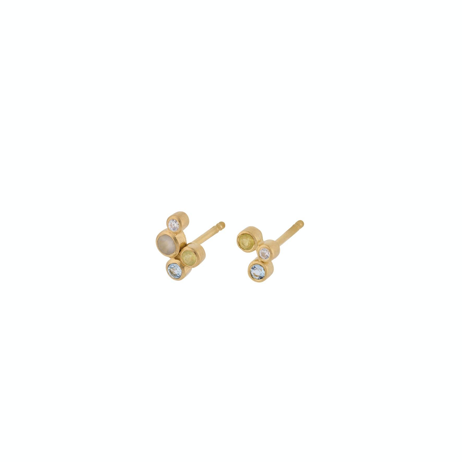 Stellar Earsticks von Pernille Corydon in Vergoldet-Silber Sterling 925