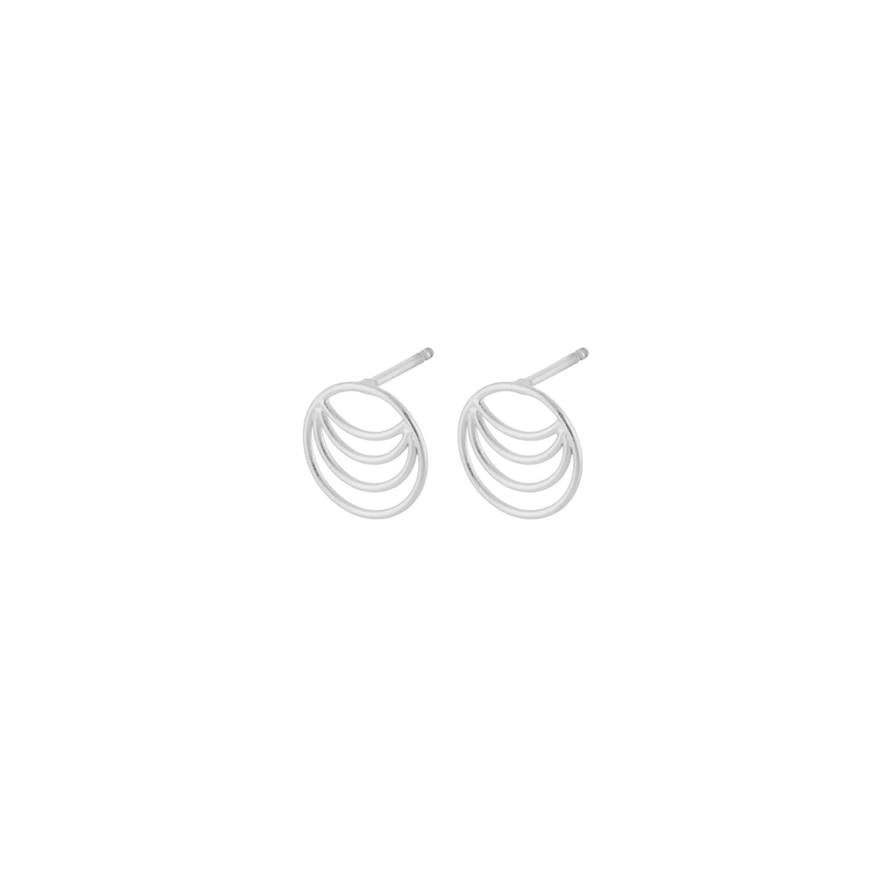 Silhouette Earsticks von Pernille Corydon in Silber Sterling 925