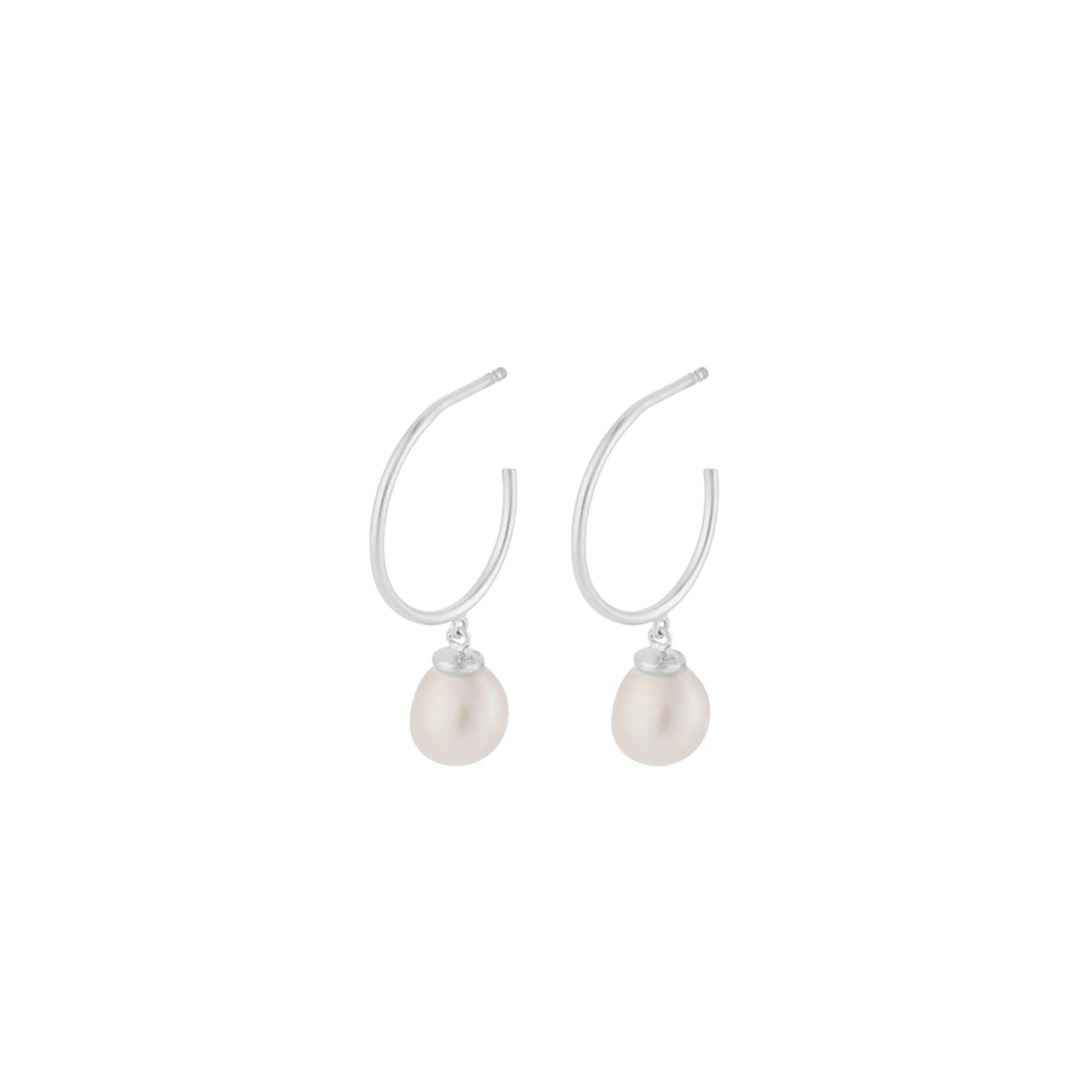 Ocean Dream Hoops fra Pernille Corydon i Sølv Sterling 925