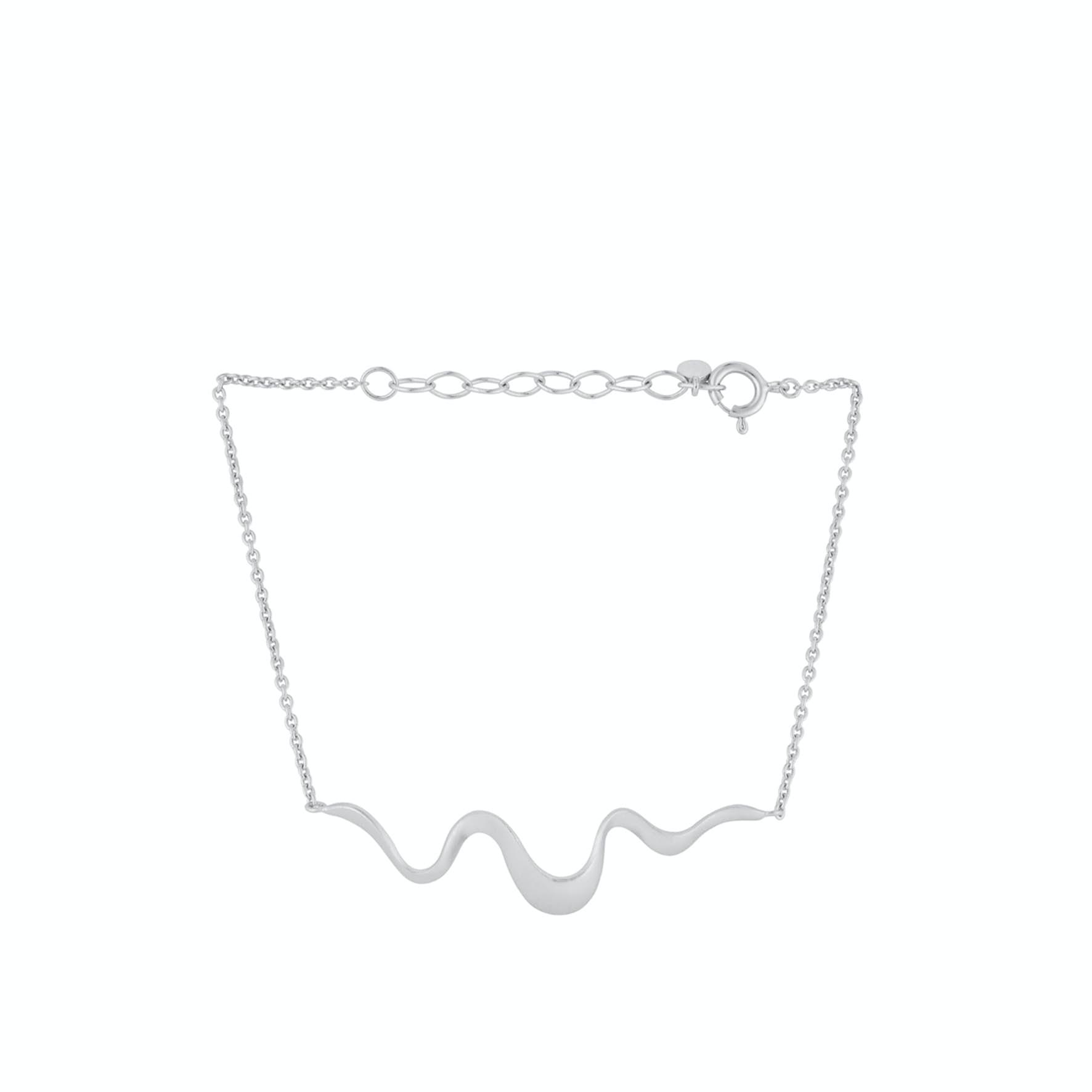 Wave Bracelet von Pernille Corydon in Silber Sterling 925