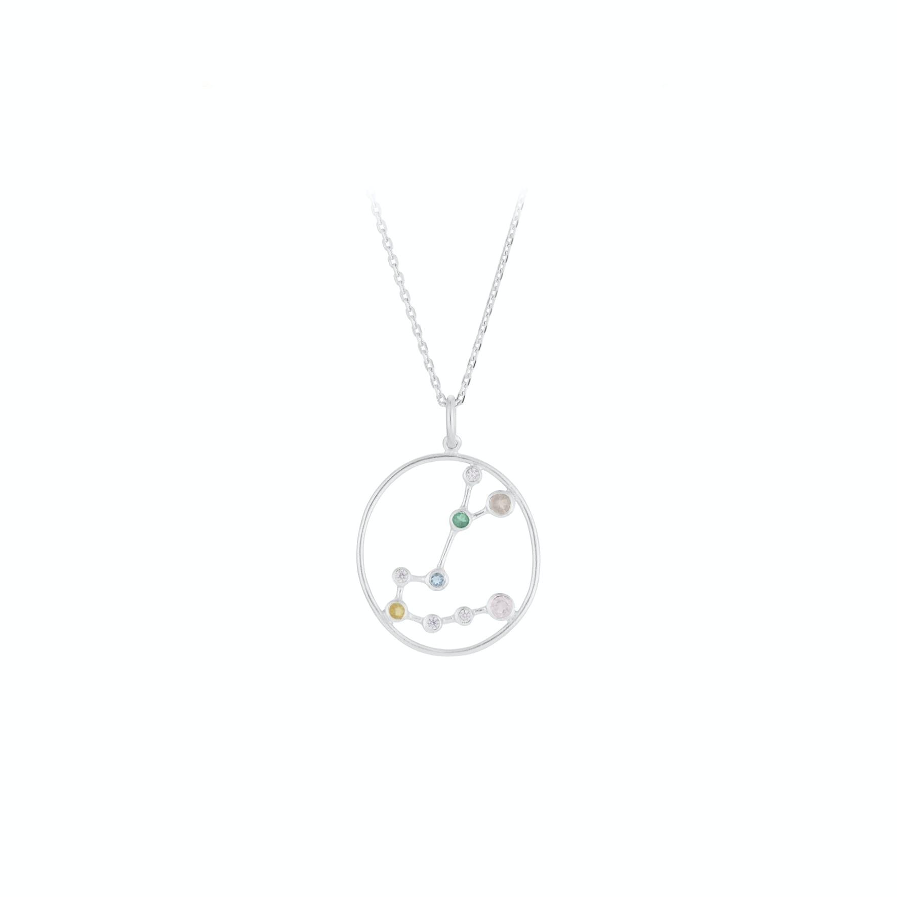 Zodiac Scorpio Necklace (Oct 23 - Nov 22) von Pernille Corydon in Silber Sterling 925