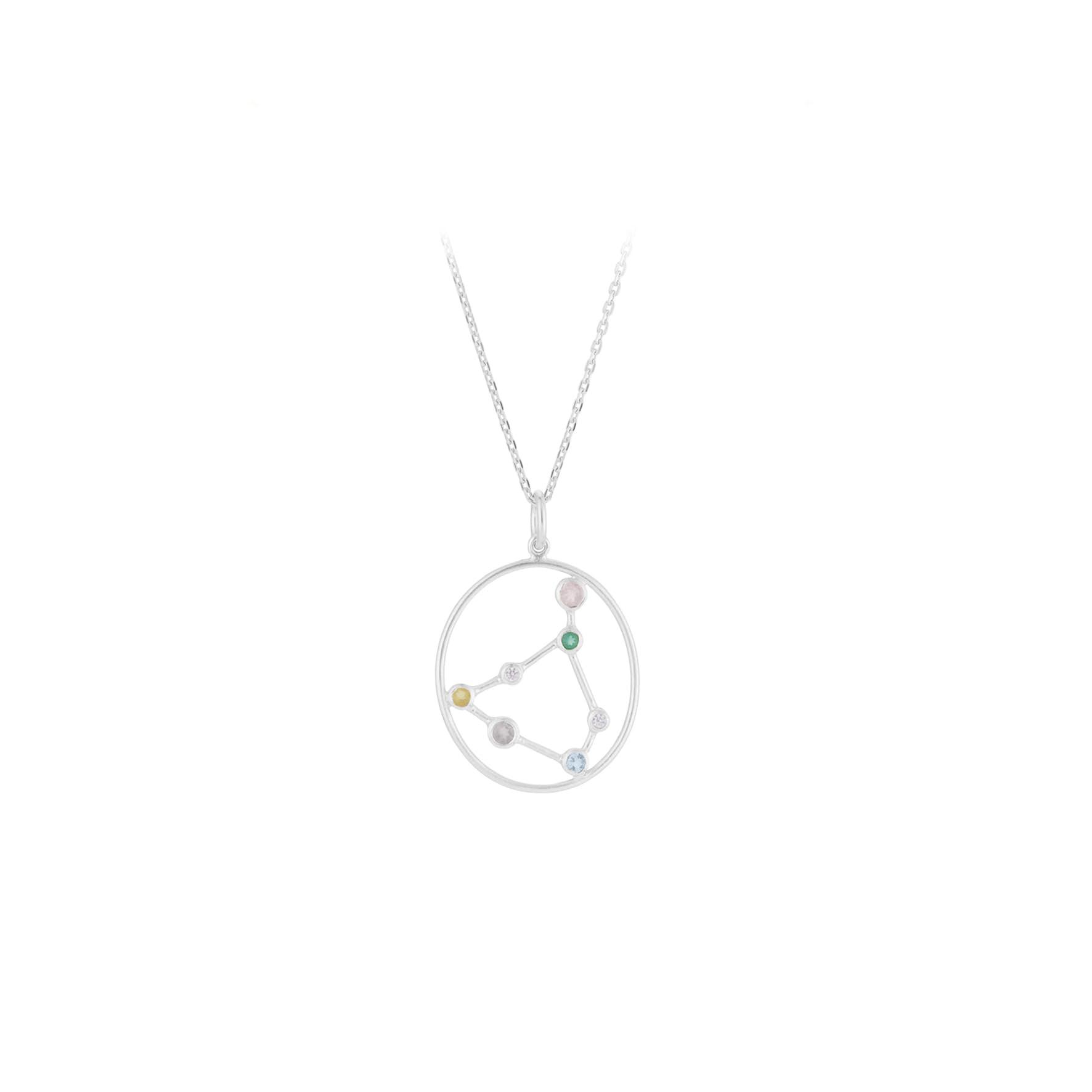 Zodiac Capricorn Necklace (Dec 22 - Jan 19) von Pernille Corydon in Silber Sterling 925