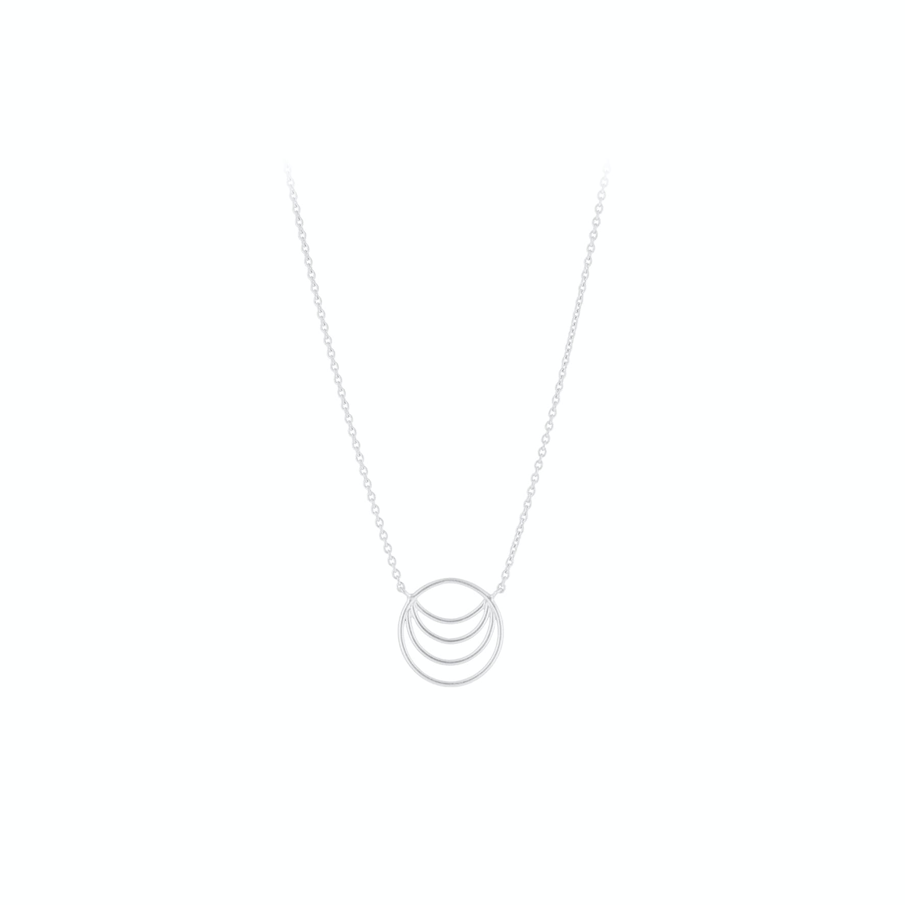 Silhouette Necklace von Pernille Corydon in Silber Sterling 925