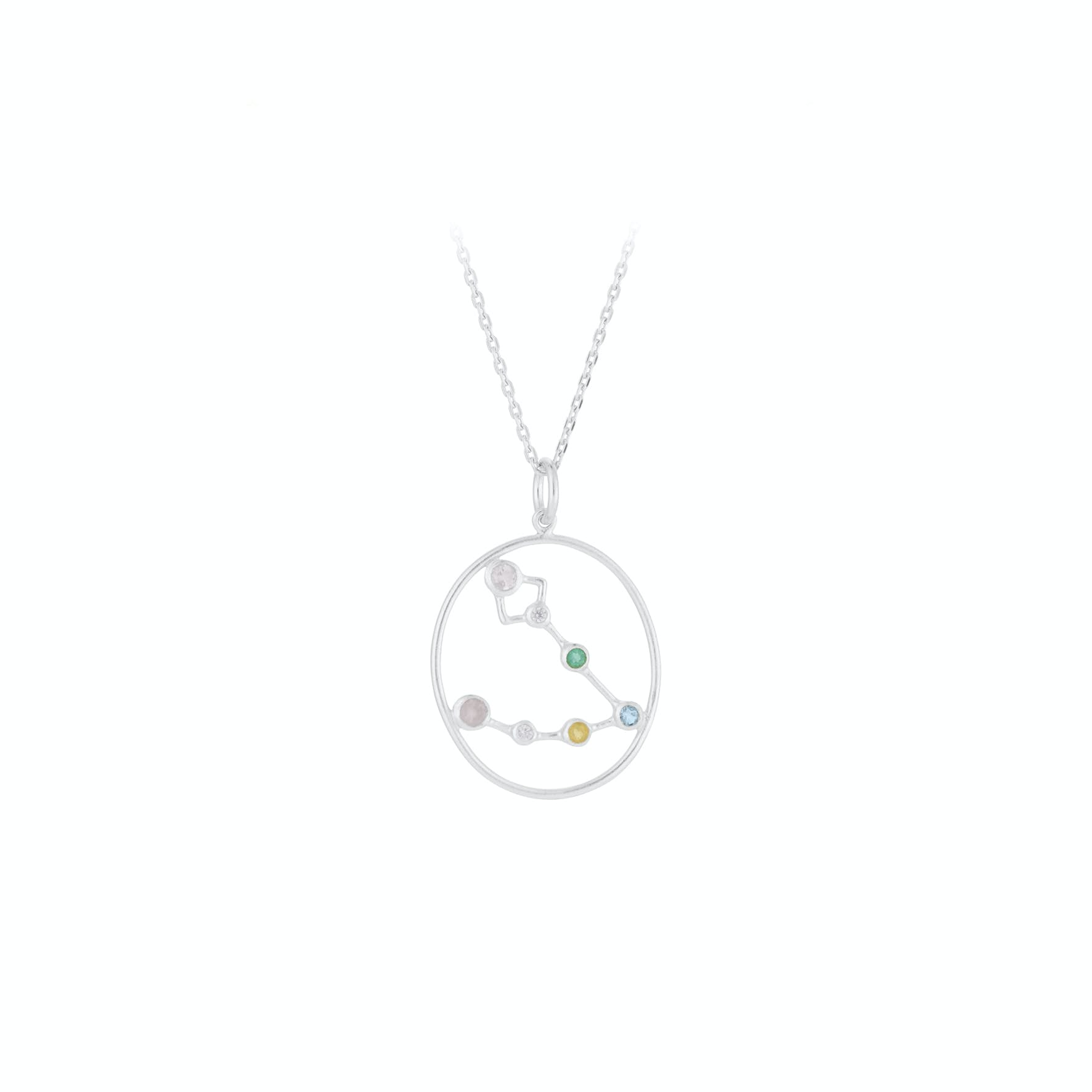 Zodiac Pisces Necklace (Feb 19 - Mar 20) von Pernille Corydon in Silber Sterling 925