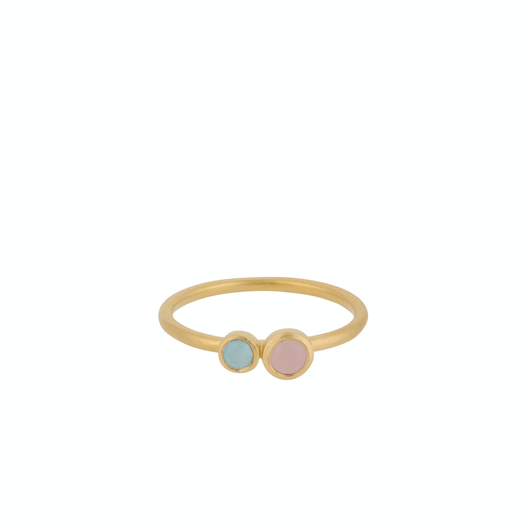 Sunset Ring von Pernille Corydon in Vergoldet-Silber Sterling 925