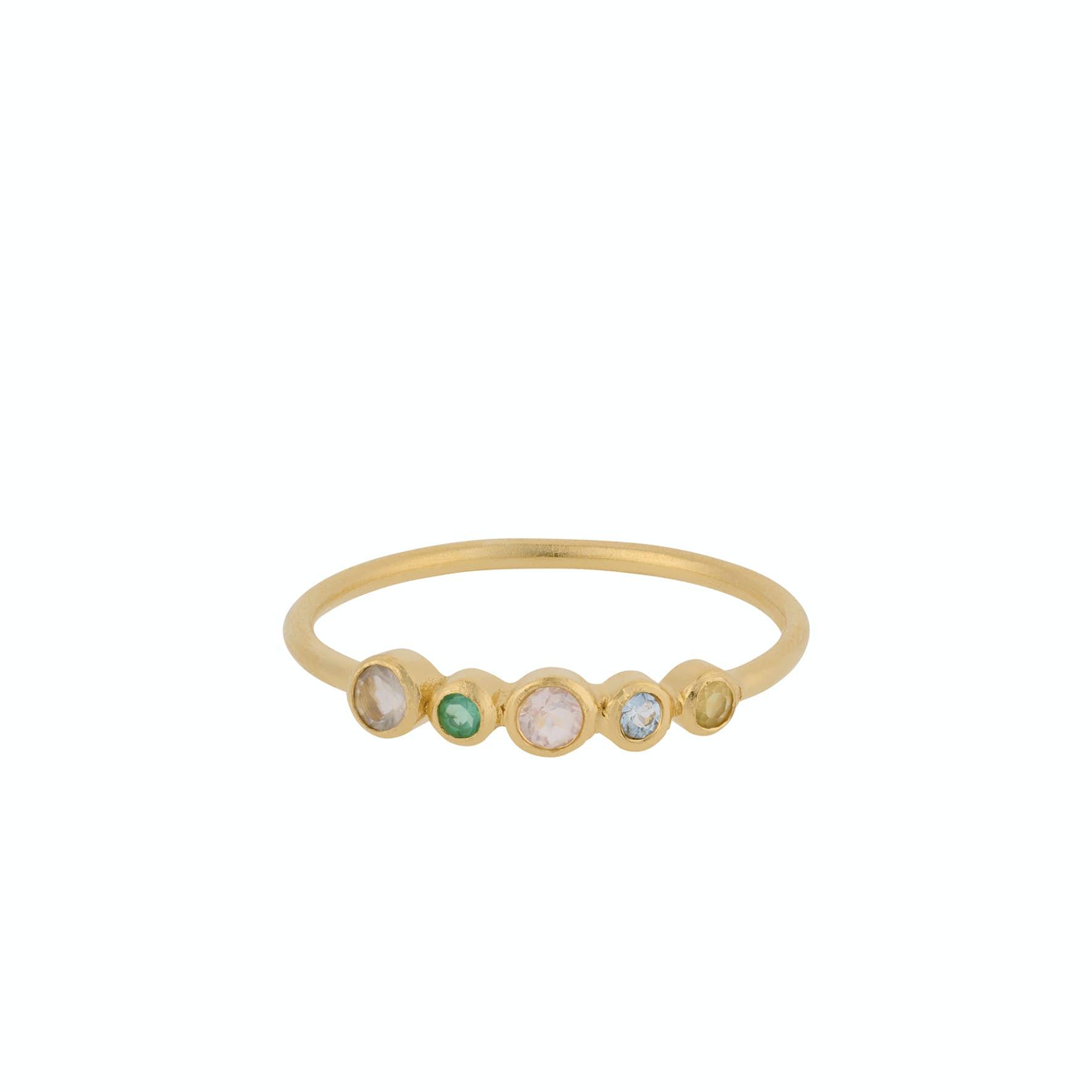 Stardust Ring von Pernille Corydon in Vergoldet-Silber Sterling 925