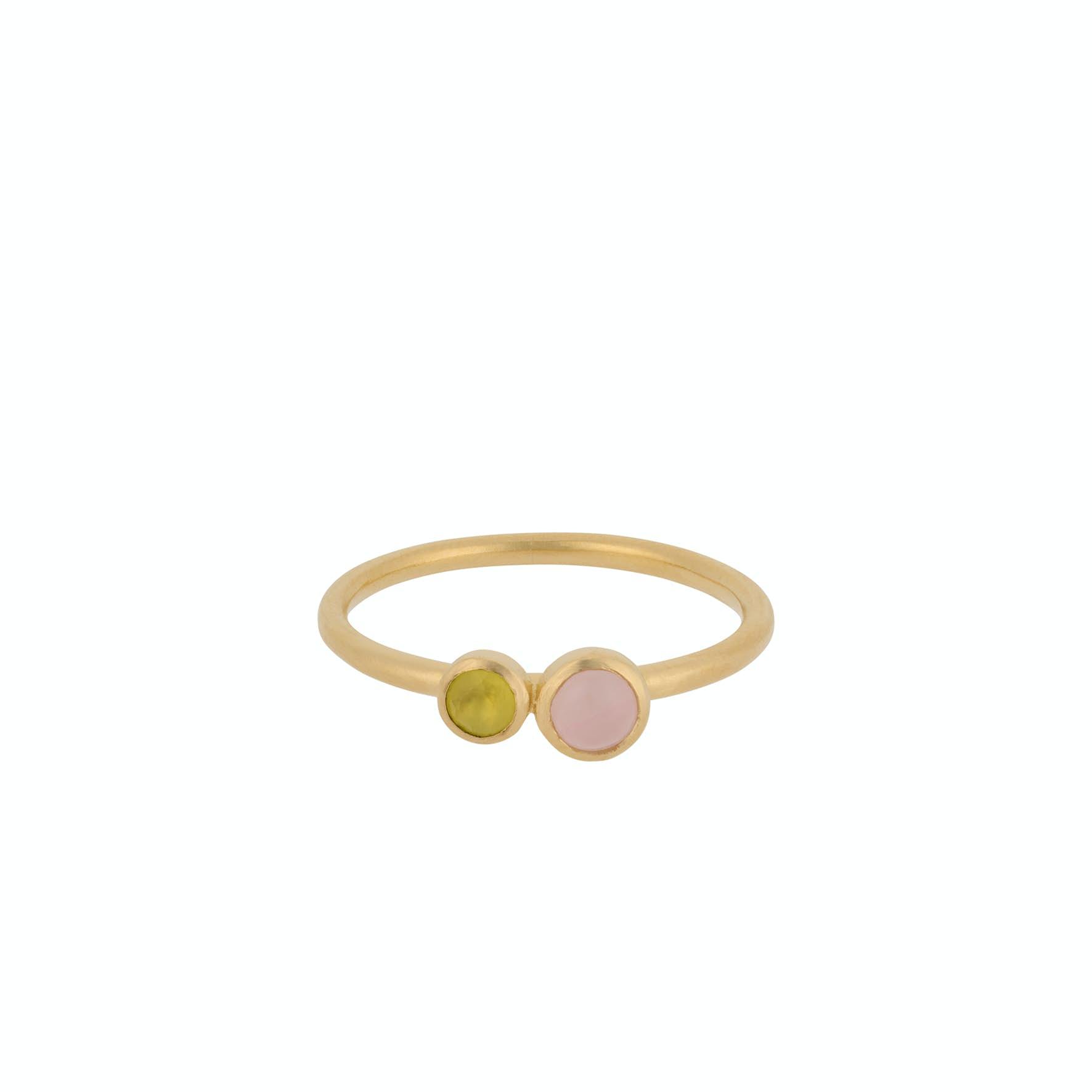Pastel Sky Ring fra Pernille Corydon i Forgylt-Sølv Sterling 925