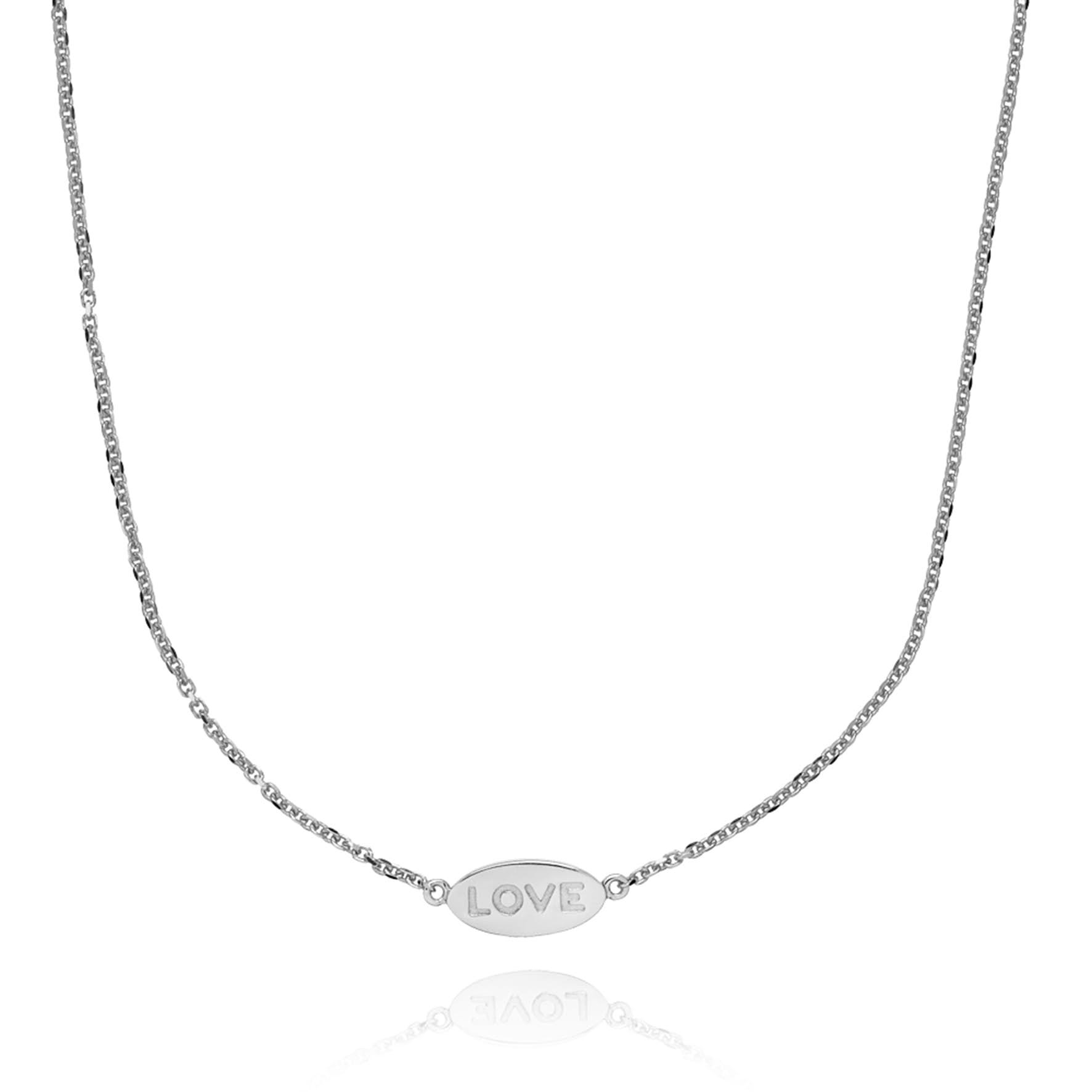Fam Love Necklace från Sistie i Silver Sterling 925