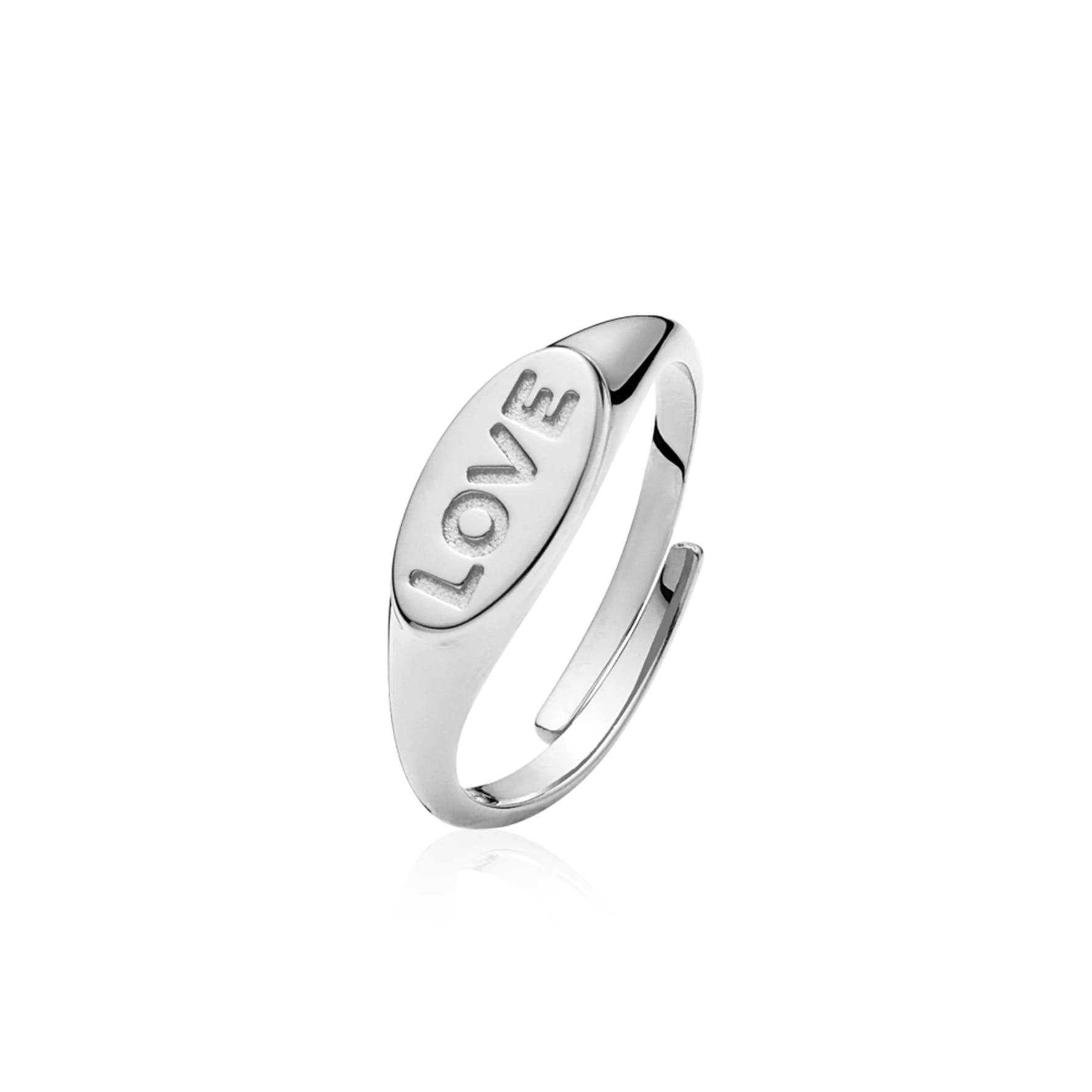 Fam Love Ring från Sistie i Silver Sterling 925