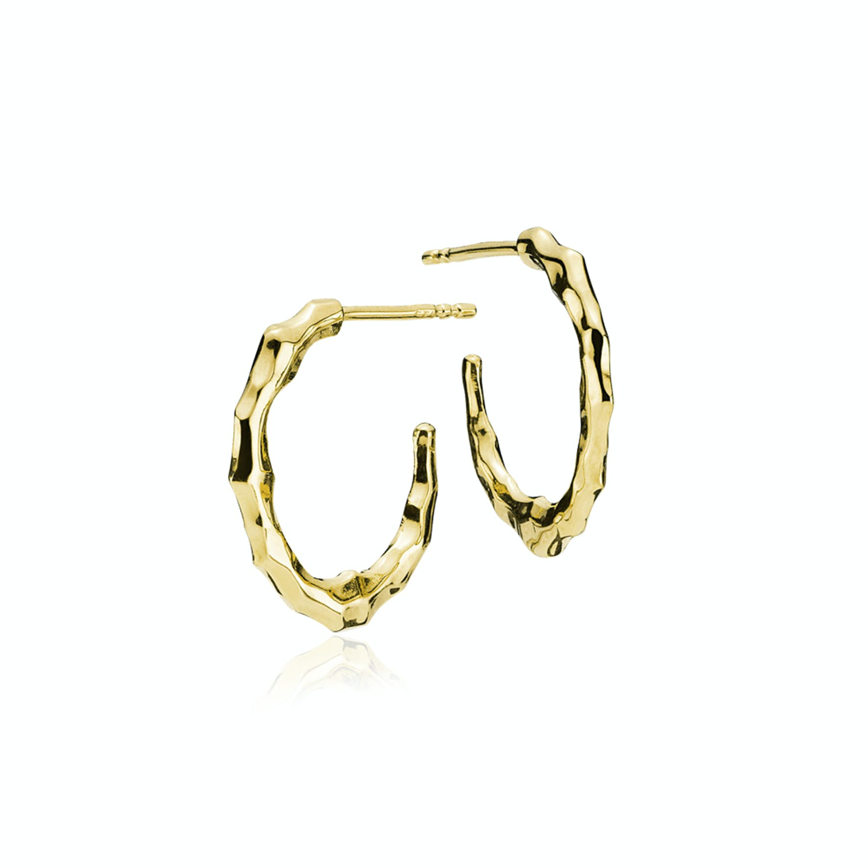 Emma Hoops from Izabel Camille in Goldplated-Silver Sterling 925