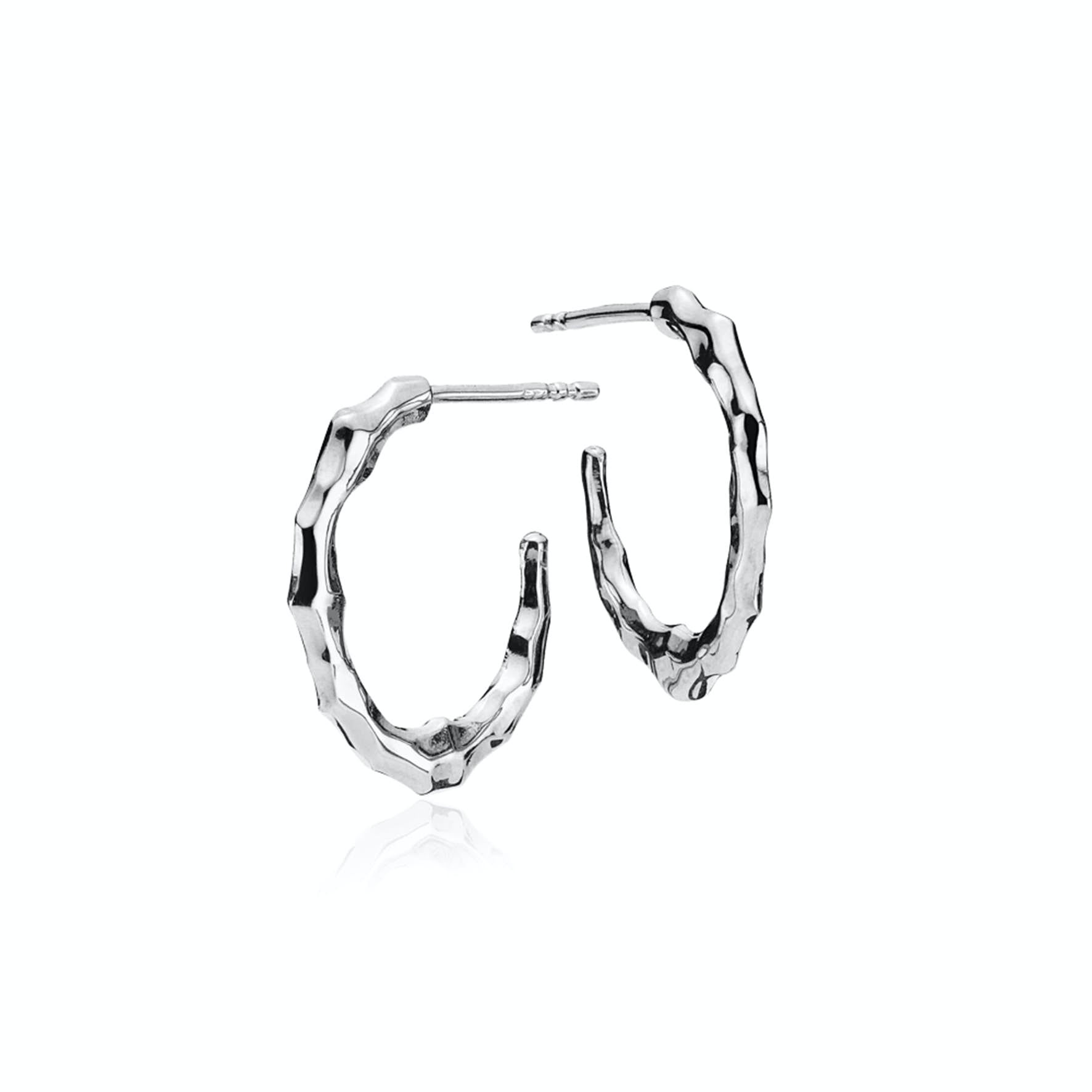 Emma Hoops from Izabel Camille in Silver Sterling 925