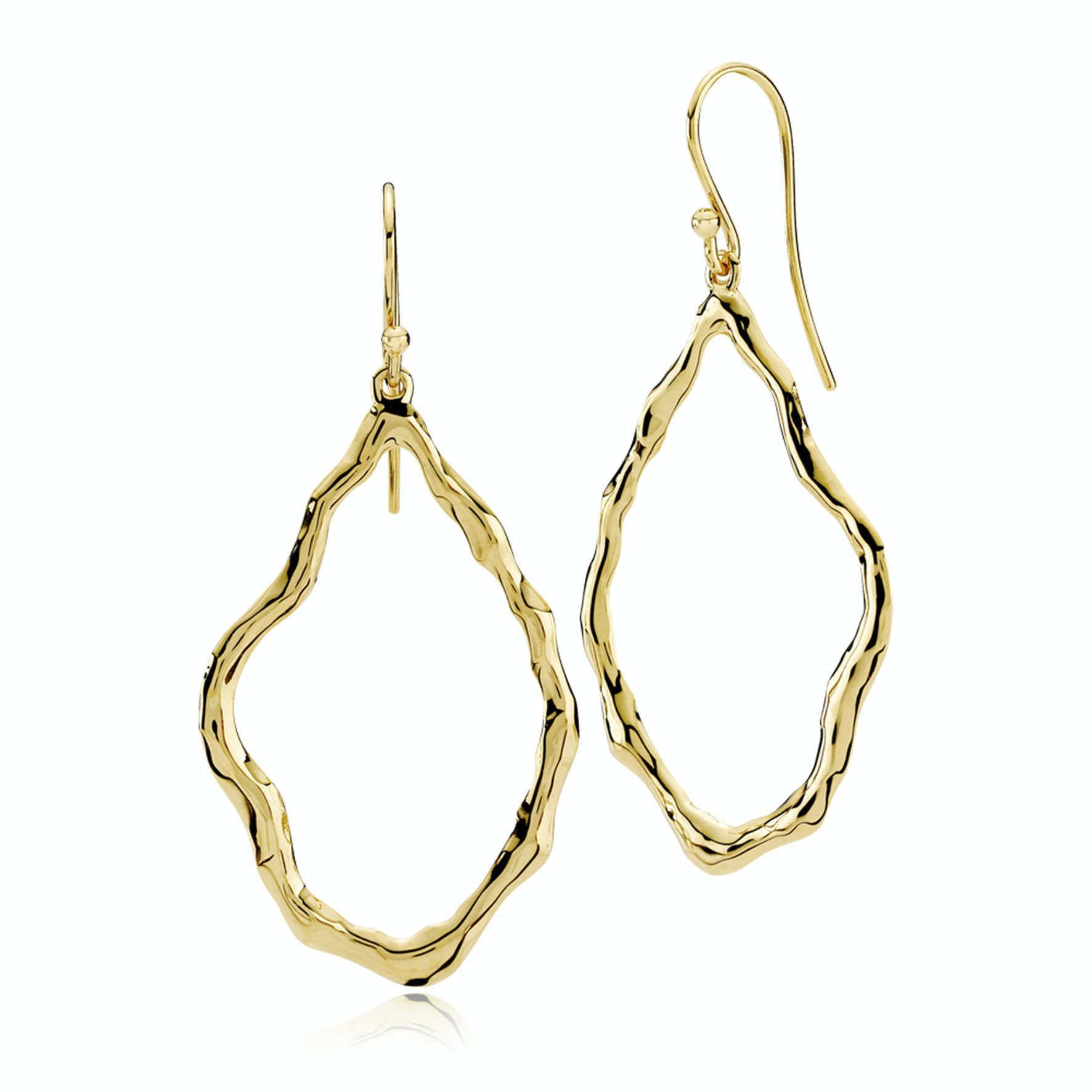 Emma Earrings from Izabel Camille in Goldplated-Silver Sterling 925