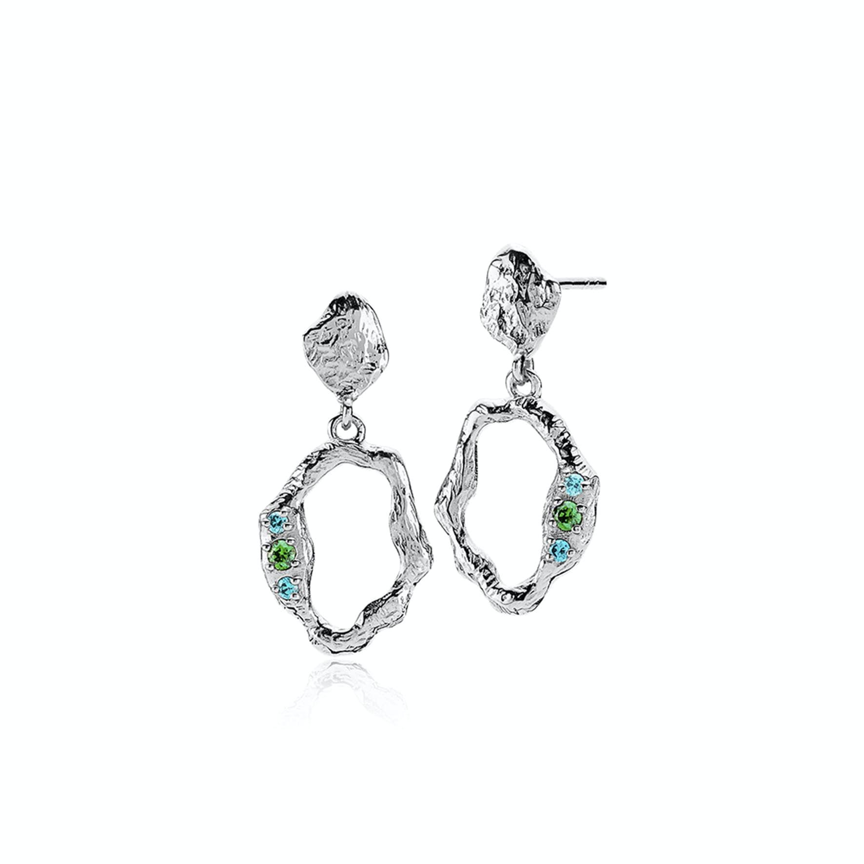 Ocean Earrings fra Izabel Camille i Sølv Sterling 925